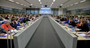 Meeting of regional representatives in Brussels with EU Commissioner for Regional Policy Corina Cretu